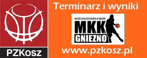MKK Gniezno - terminarz i wyniki na pzkosz