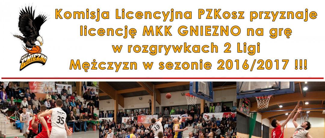 MKK GNIEZNO 2 LIGA decyzja zapadła 2016_2017