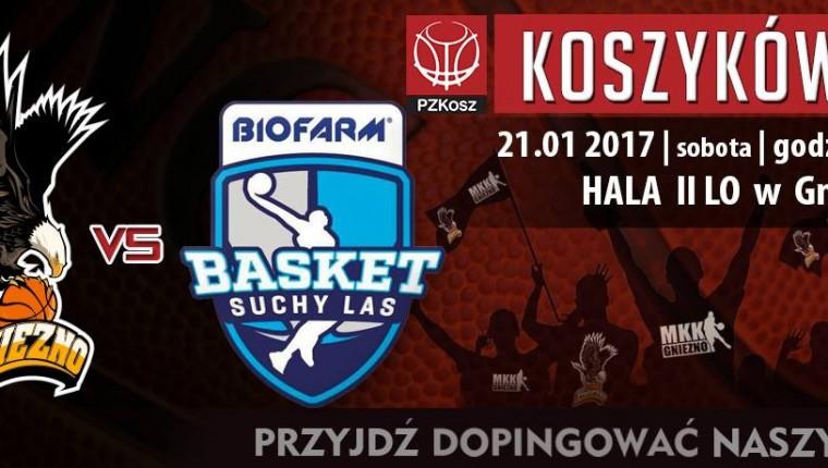 20 KOLEJKA 2017r Sklep Polski MKK Gniezno – Biofarm Basket Suchy Las