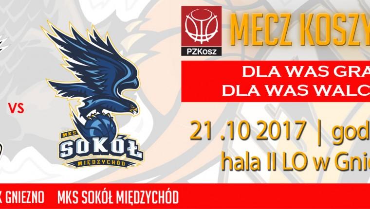 6 kolejka Wydarzenie FB Sklep Polski MKK GNIEZNO-MKS Sokół Marbo Międzychód 2017_10_21