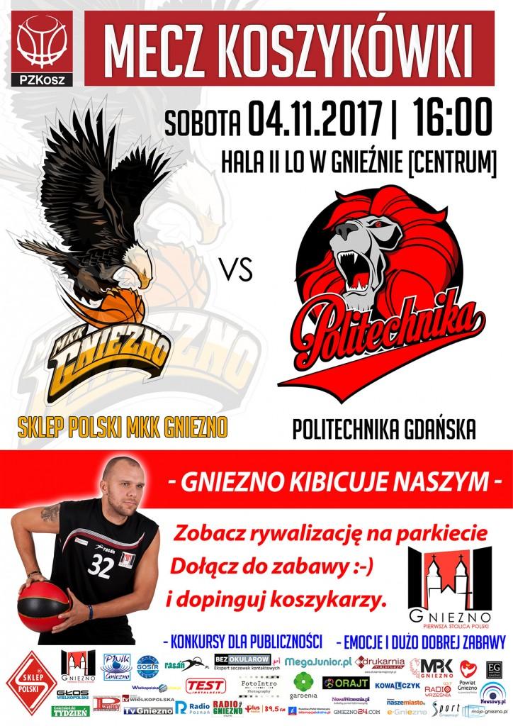 Sklep Polski MKK Gniezno – Politechnika Gdańska 2017_11_04 plakat_1920pix