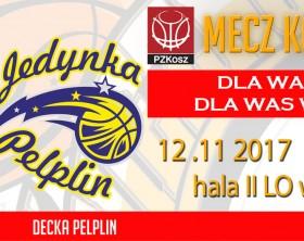 8 kolejka Wydarzenie FB Sklep Polski MKK GNIEZNO- Decka Pelplin 2017_11_12