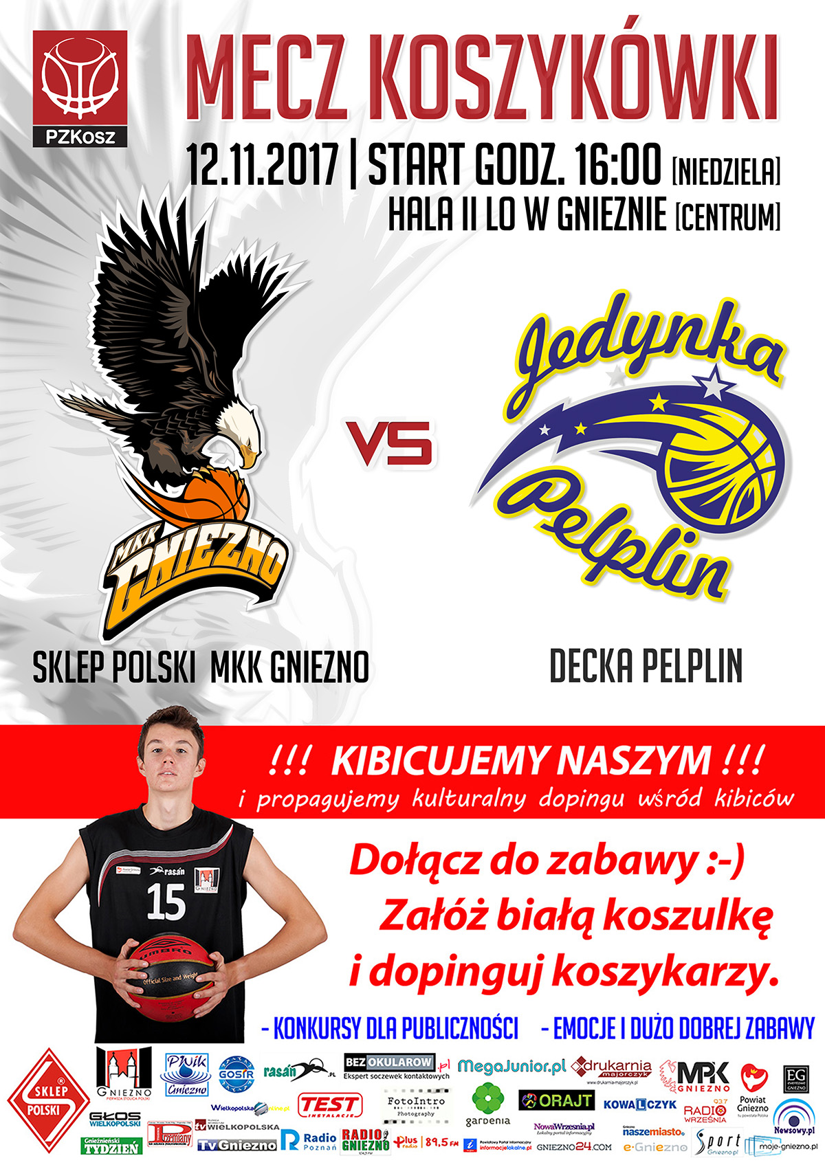 Sklep Polski MKK Gniezno – Decka Pelplin 2017_11_12 plakat www