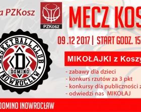 Wydarzenie FB Sklep Polski MKK Gniezno – DOMINO INOWROCŁAW 2017_12_09 MIKOLAJKI