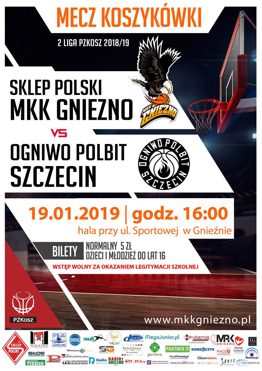 17-kolejka-Plakat-2019_01_19-SP-MKK-GNIEZNO-Ogniwo-Polbit-Szczecin-www