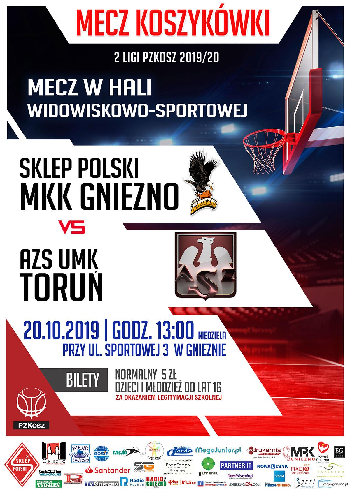 2018_10_20 MKK GNIEZNO-AZS UMK Toruń_www